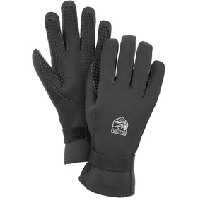 Hestra Neoprene 5-Finger Gloves, black